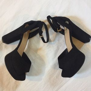 Shoes - 3/$20 Open Toe High Heels